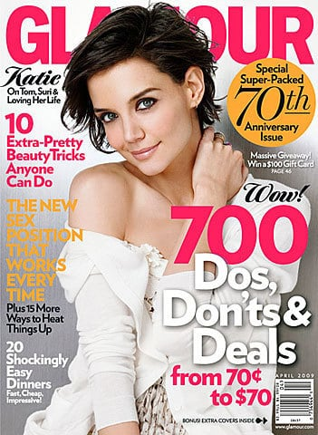 Katie Homles Glamour Cover