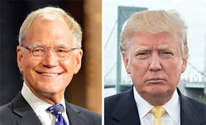 David Letterman Blasts Donald Trump with Surprise Top 10 List