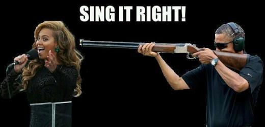 Obama and Beyonce