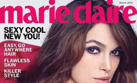 Keira Knightley Marie Claire Cover