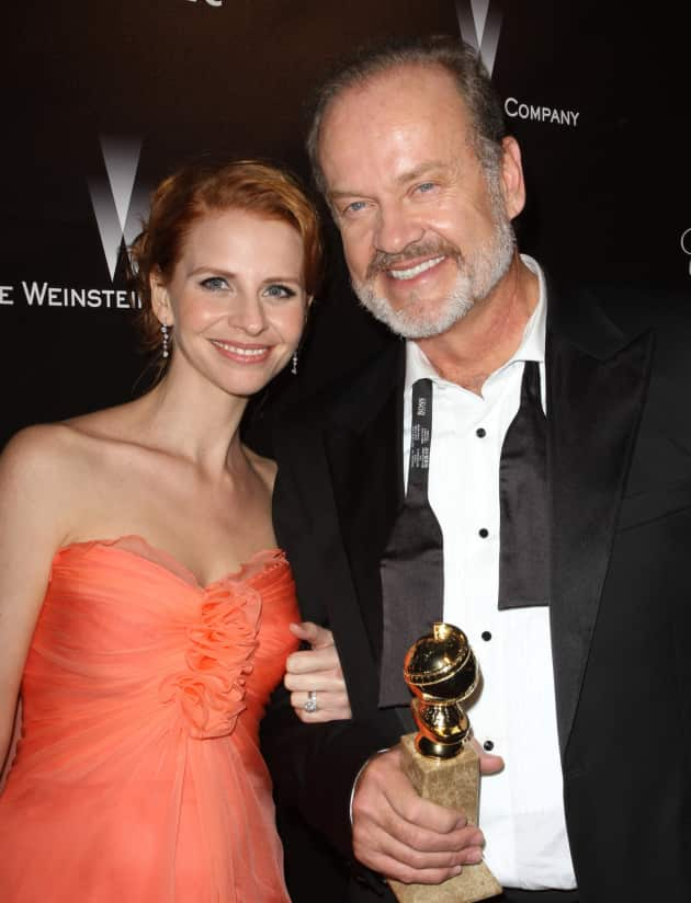 Kayte Walsh and Kelsey Grammer Pic
