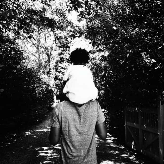 Blue Ivy and Jay Z: Father's Day Photo