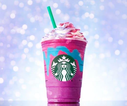 Starbucks Unicorn Frappucino