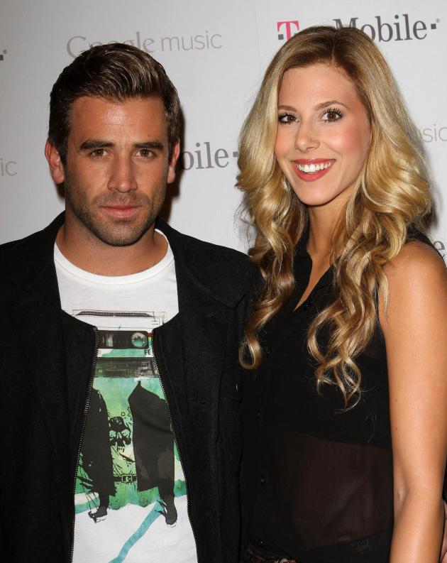 Ashley Slack and Jason Wahler