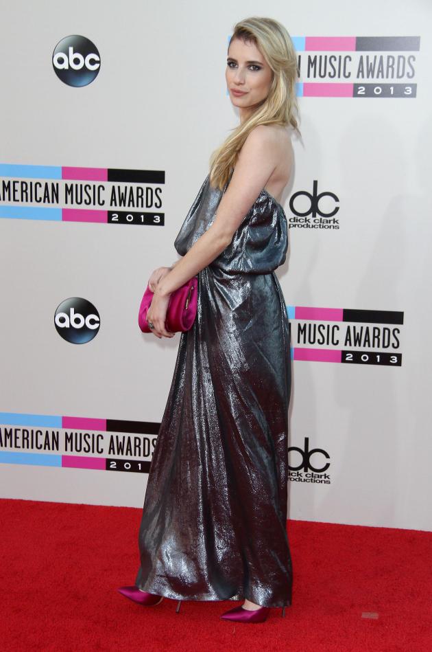 Emma Roberts at American Music Awards