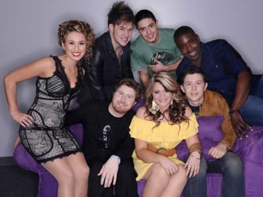American Idol Top Seven