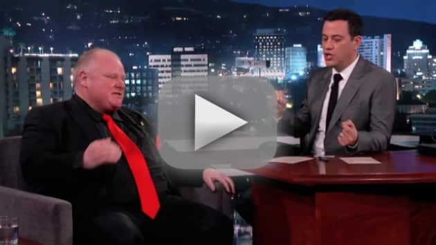 Rob Ford on Jimmy Kimmel Live (Part 2)