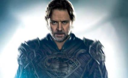 Man of Steel Poster: Rusell Crowe as Jor-El!