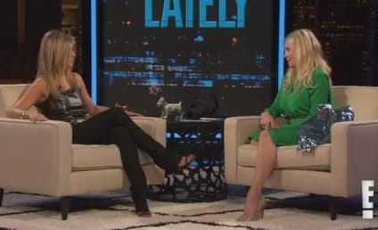 Jennifer Aniston Cries, Confirms Engagement on Chelsea Lately
