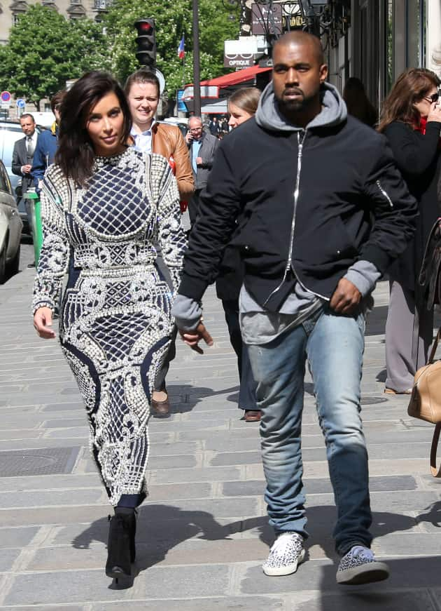 Kim and 'Ye Abroad