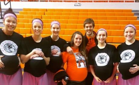 Derick, Jill, Oklahoma State Basketball Team