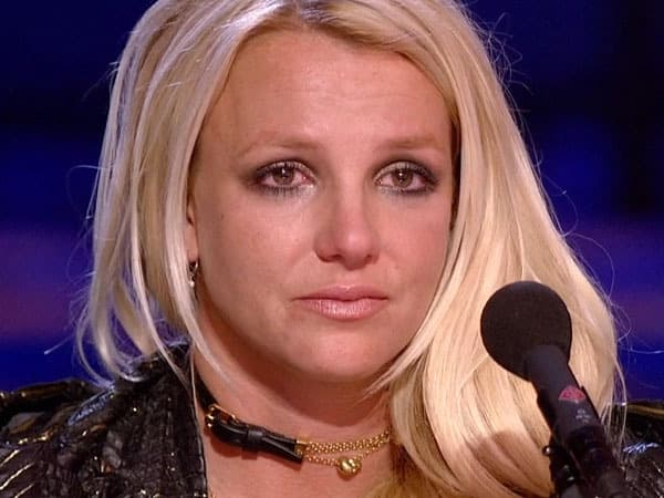Britney Spears Cries on X Factor
