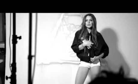 Lindsay Lohan: Kode Magazine Shoot