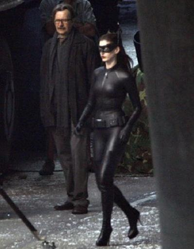 Anne as Catwoman