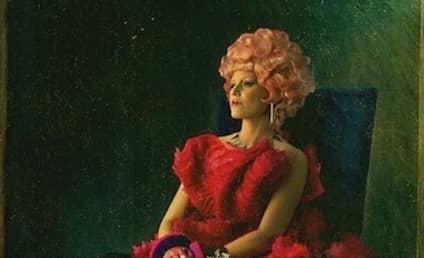 Effie Trinket Portrait Kicks Off Catching Fire Promotion, Capitol Couture