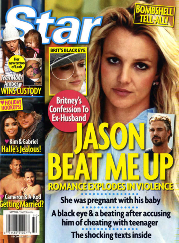 Report: Jason Trawick Beat Up Pregnant Britney Spears, Cheated on Her With  Teenager - The Hollywood Gossip