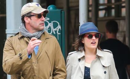 Jon Hamm and Elisabeth Moss: Hooking Up In Secret?!