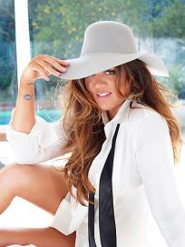 Khloe Kardashian Cosmo Photo