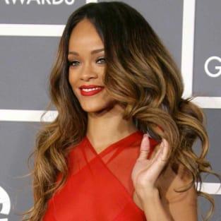 Rihanna at the Grammys 2013