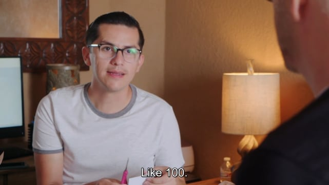 Armando has BIG plans for their wedding