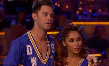Snooki & Sasha Farber - Dancing With the Stars Week 4