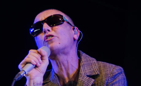 Sinead O'Connor on Stage