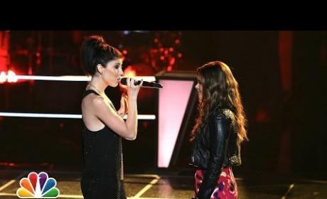 """Briana Cuoco vs. Jacquie Lee: """"House of the Rising Sun"""" - The Voice Battle Round"""