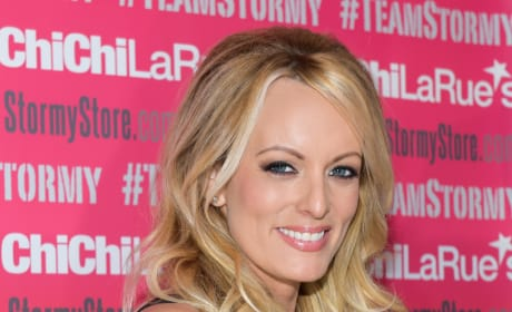 Stormy Daniels Up Close