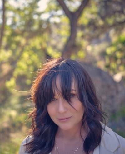Shannen Doherty in 2020