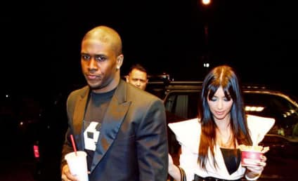 Kim Kardashian and Reggie Bush: It's Over!