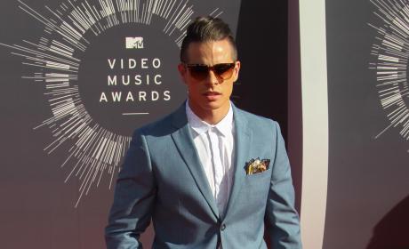 Casper Smart at the 2014 VMAs