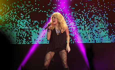Carrie Underwood Concert Photo