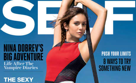 Nina Dobrev SELF Cover
