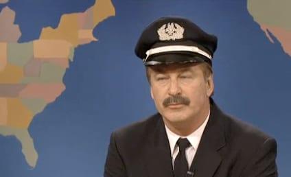 Alec Baldwin Mocks American Airlines, Self on SNL Weekend Update