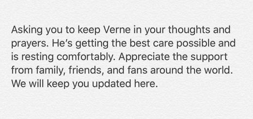 Verne Troyer Message April 2018