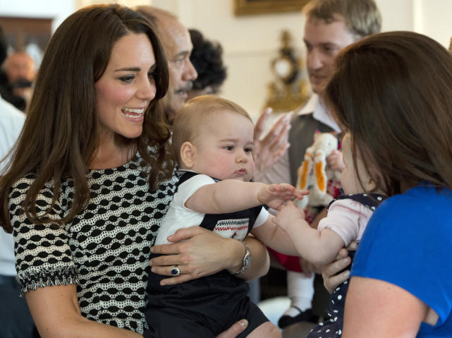 Kate Middleton and Prince George Playdate