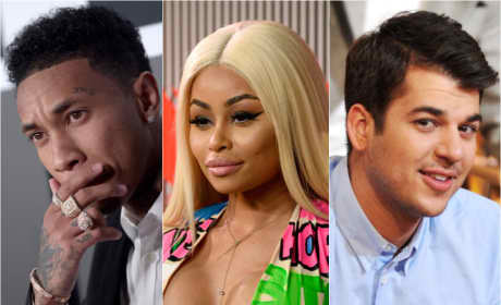 Tyga: Blac Chyna Sucks at Parenting ... But Rob Kardashian's Cool