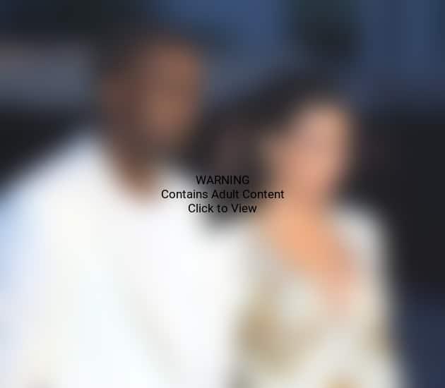 Kanye West and Kim Kardashia in Cannes