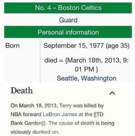 Terry RIP