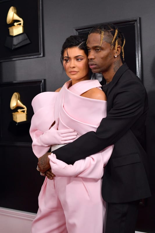 Travis and kylie at 2019 grammys