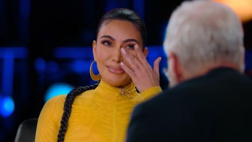 Kim Kardashian Tears Up on Netflix