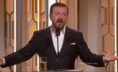Ricky Gervais Embarrasses Mel Gibson