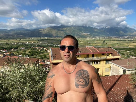 Joe Giudice With No Shirt