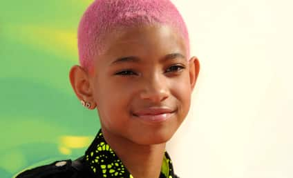 Willow Smith Goes Pink