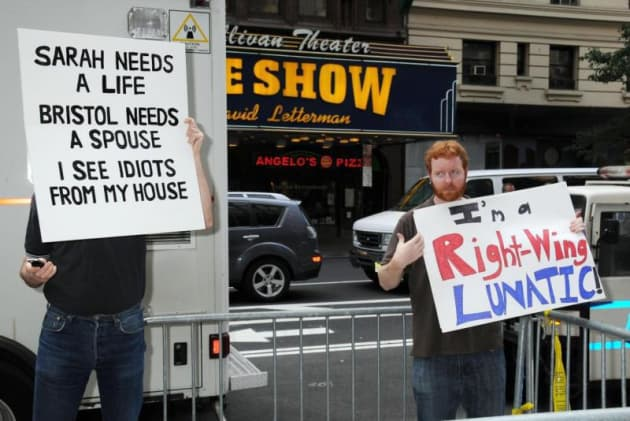 Palin Protesters