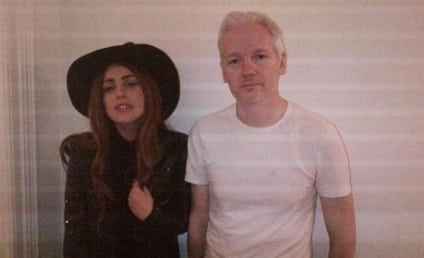 Lady Gaga and Julian Assange: Random BFF Alert!