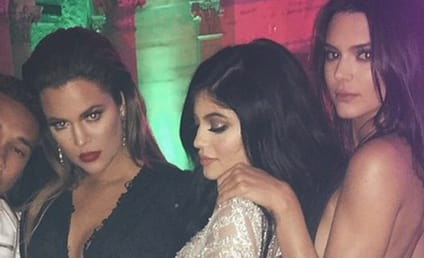 Khloe, Kylie and Kendall Party Hard... With Tyga!