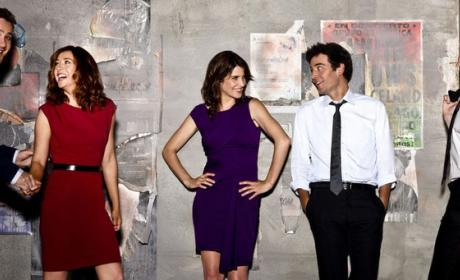 How I Met Your Mother Cast Pic