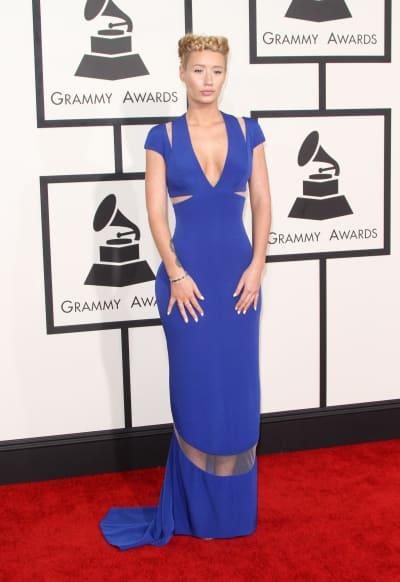 Iggy Azalea at the 2015 Grammys