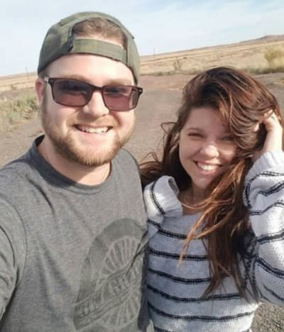 Amy Duggar with Her Husband